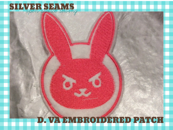D. Va embroidered patch