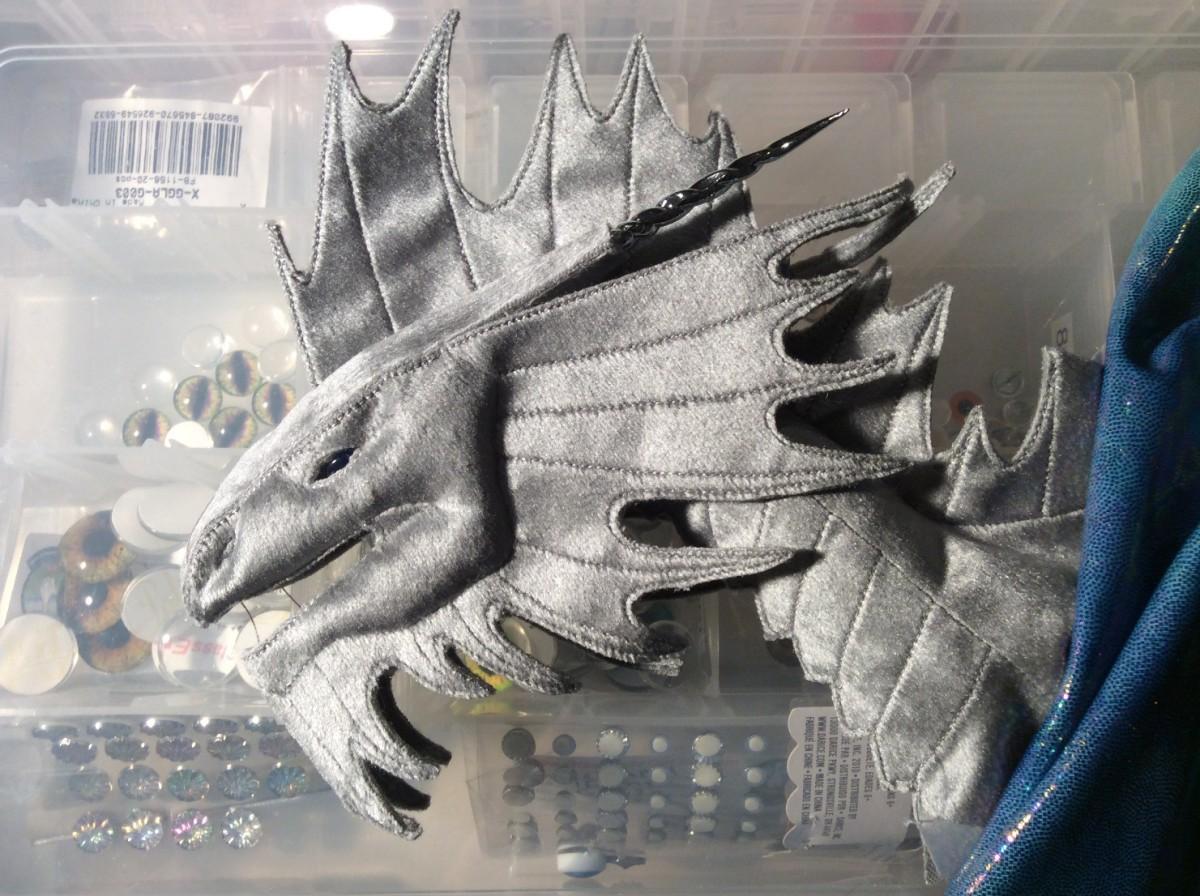 Silver Dragon work in progress, test assembly