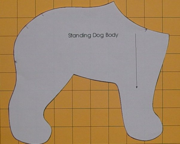 Standing Dog Pattern 2002, Body