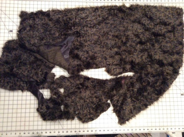 Leopard feather scrap