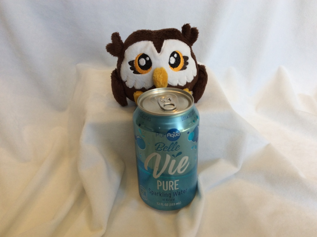 Tiny Owl with Seltzer
